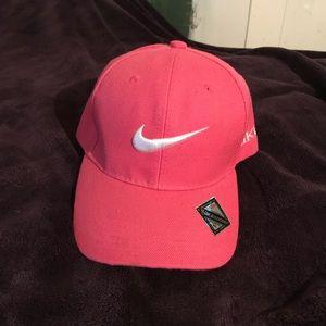 Pink Nike Velcro Cap